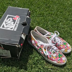 Vintage Hello Kitty x Vans shoes